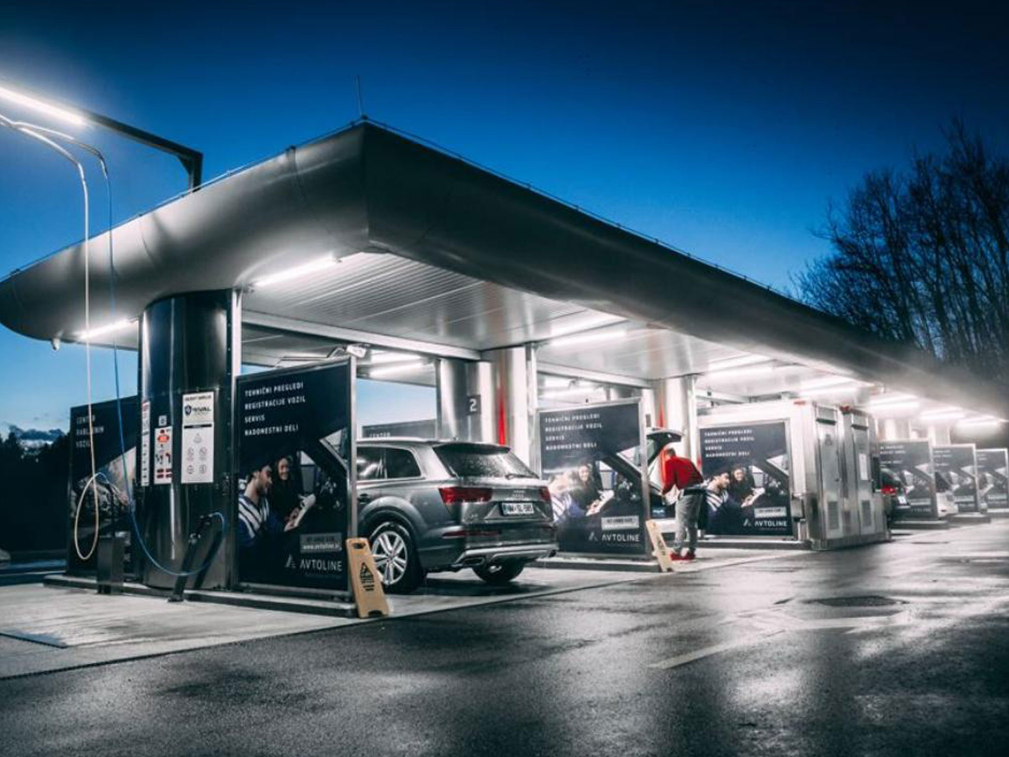 Avtoline (SI) – new car wash with R2W